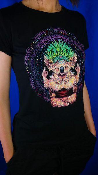 Girl Shirt Karmic Koala   UV-aktiv