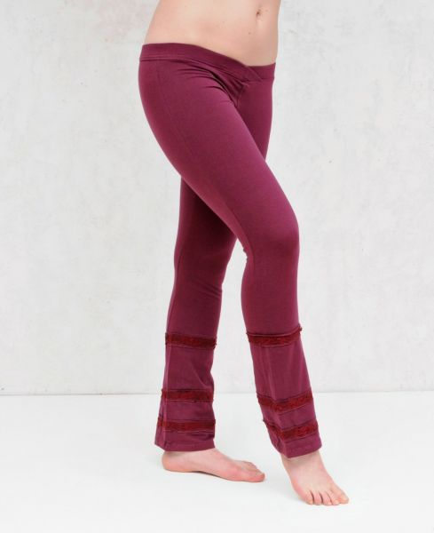 Luna Laced Pants | Beere