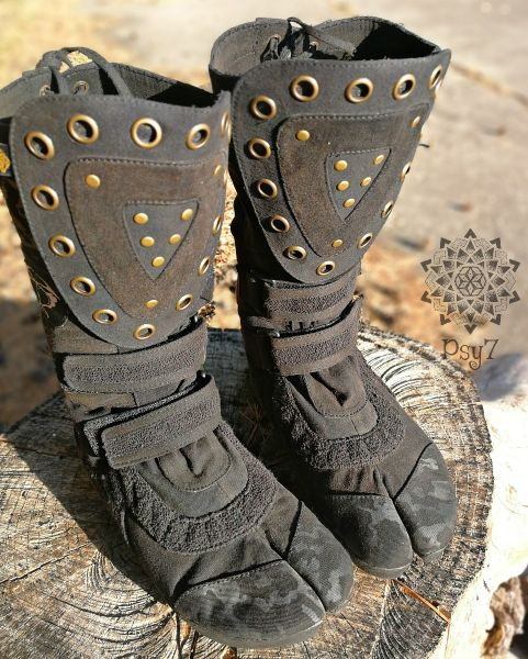 Ninja Shoes | Warrior Boots - black