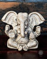 Ganeshafigur aus Sand