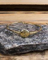 Armreif Gold | Spirale #1