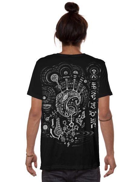 T-Shirt Ripple   schwarz