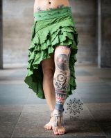 Wickelrock | Aurelia - Matcha