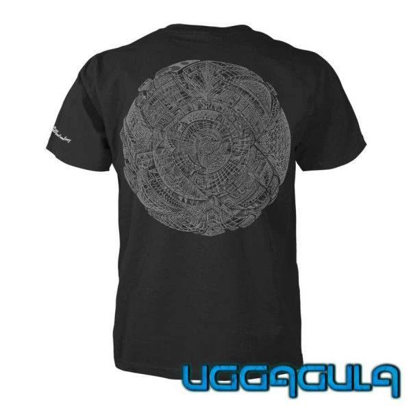 T-Shirt Phosphoresphere | UV-aktiv
