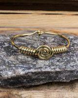 Armreif Gold | Spirale #2