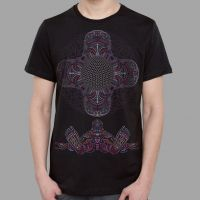 T-Shirt DMT HD black | UV-aktiv