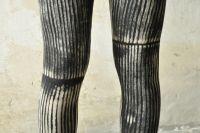 Leggings - Zirkus | schwarz - creme