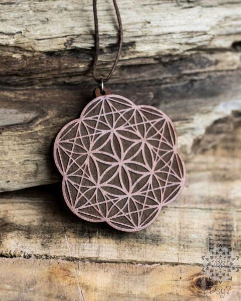 Anhänger | Halskette - Seed of Life Tetrahedron