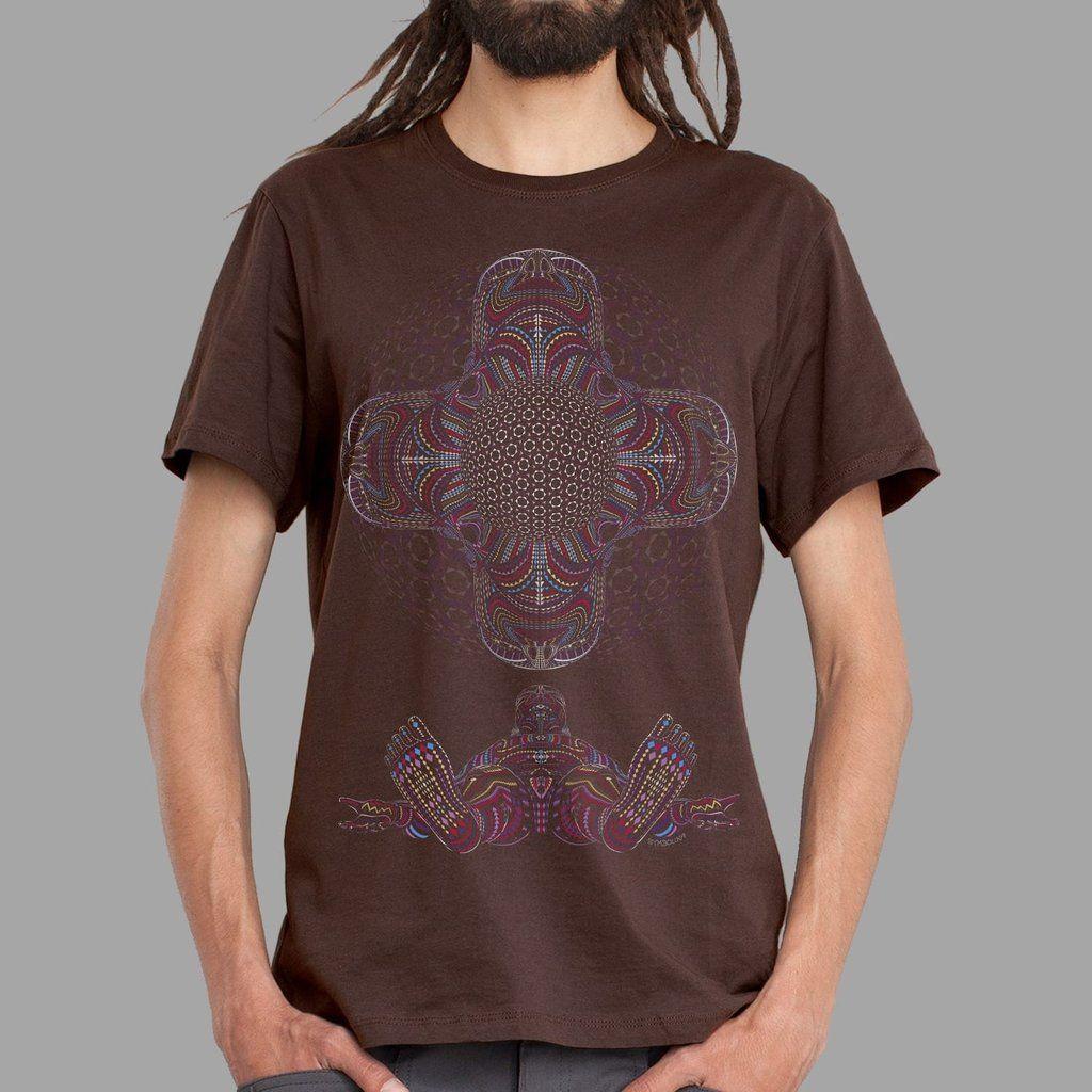 T-Shirt DMT HD brown | UV-aktiv