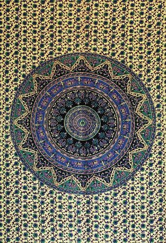 Wandtuch | Überwurf - Nature Mandala