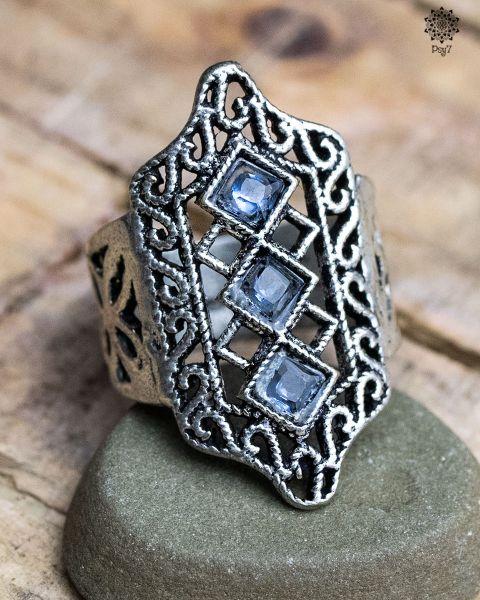 Ring Sepp #3 | Glas