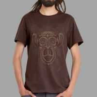 T-Shirt Tā Moko brown | UV-aktiv