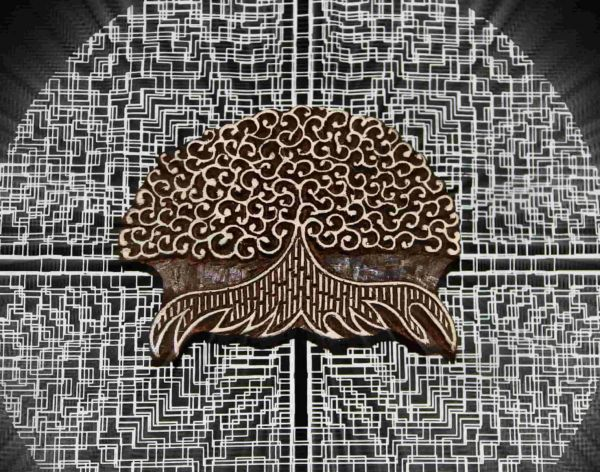 Holzstempel | Baum des Lebens