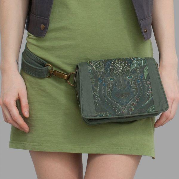 Strap Bag Aya olive | uv-aktiv