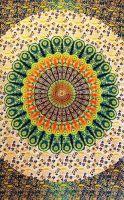 Wandtuch | Bettüberwurf -  Circle Verde