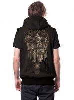 Kapuzenweste Hanuman | dark brown