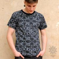 T-Shirt Shipibo | schwarz
