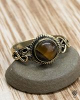 Ring Nurit | Tigerauge