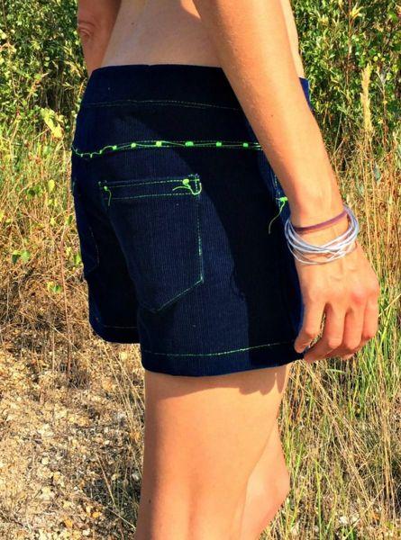 Cord - Shorts | dunkelblau
