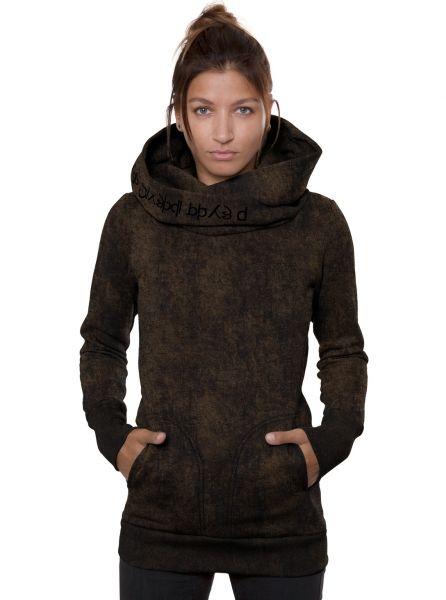 Hoodie Lovely Reaper Women | black rust