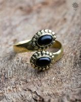 Ring Bellona | Obsidian