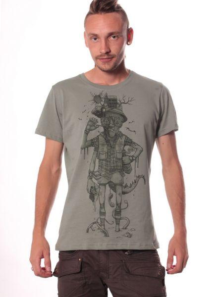 T-Shirt Hunter S. Thompson • green