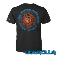 Bio T-Shirt Turbo Sphere black  | UV-active