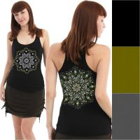 Top Lotusika | black | green | grey
