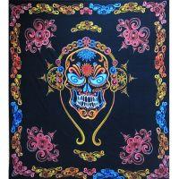 Wandtuch | Überwurf - Mexican Skull
