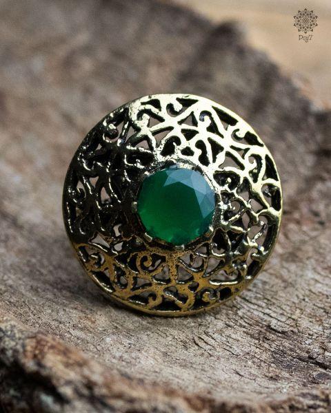 Ring grüner Lupus