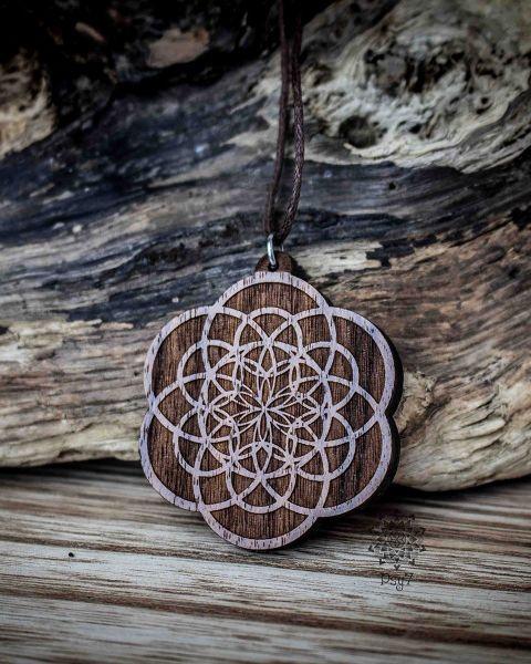 Anhänger | Halskette - Flower of Creation