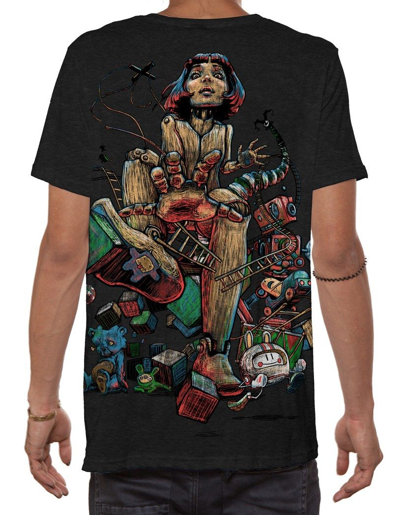 T-Shirt On The Loose | maringo