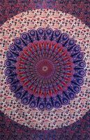 Wandtuch | Überwurf - Berry Mandala