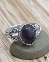 Ring Kuno | Amethyst