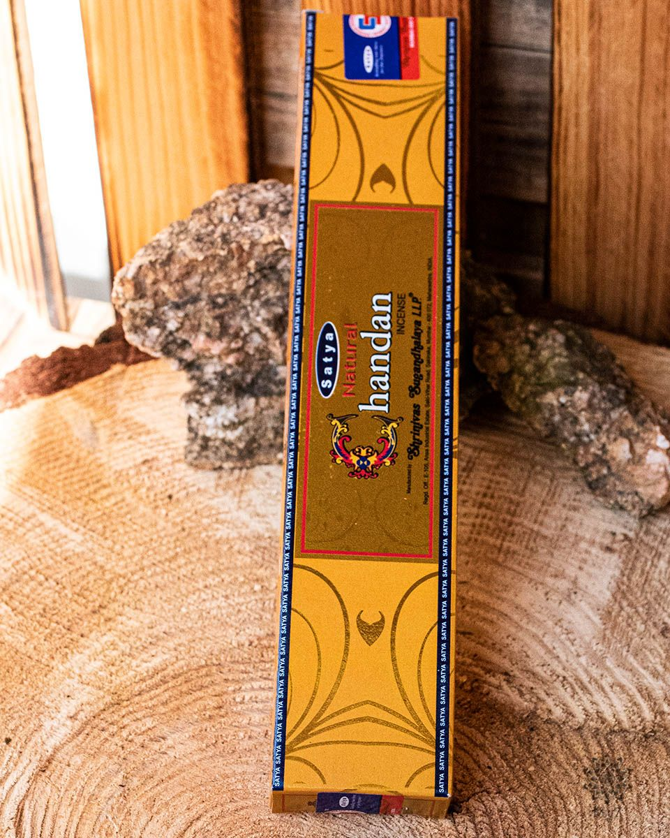 Räucherstäbchen Satya | Natural Chandan - Sandel