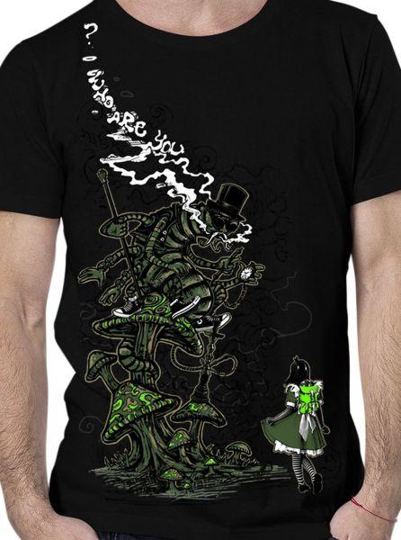 T-Shirt Caterpiller | black