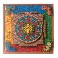 Blotter Art Tibetan Mandala by Matt Manson