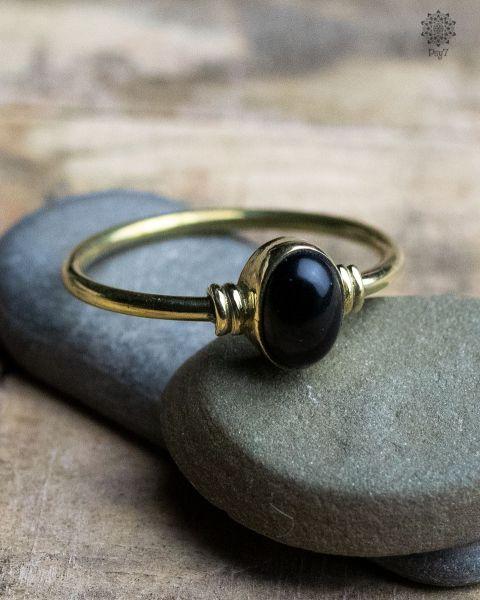 Ring Carax | Obsidian