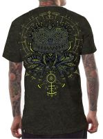 T-Shirt Psyco Toad acid olive