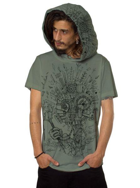 Kapuzenshirt Wood Spirit | grün