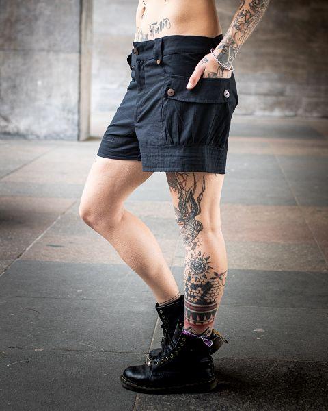 Cargo Shorts | schwarz