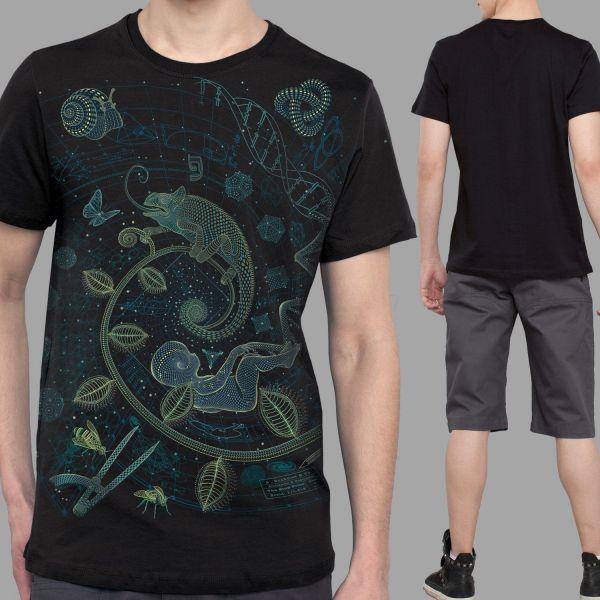 T-Shirt The Blue Print 1 - Land | UV-aktiv