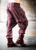Haremshose Shalwar | Cargohose Men | braun