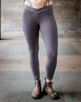 Leggings | Yoga Pants - Flower Of Life | grau