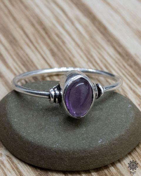 Ring Dahlia | Amethyst