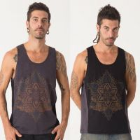 Tank Top Anahata | black grey