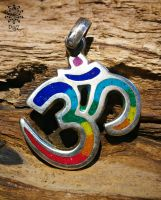 Anhänger Chakra OM | mit Halsband
