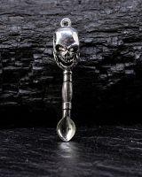 Anhänger Löffel | Skull #2