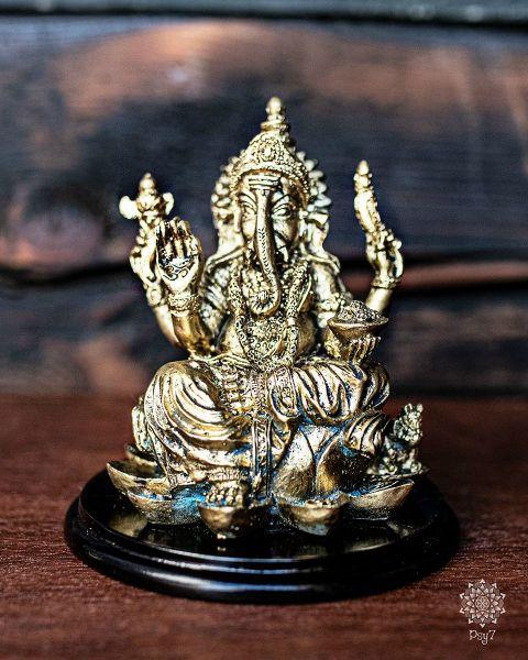 Ganesha | Gold - Braun