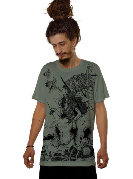 T-Shirt Witch | grün